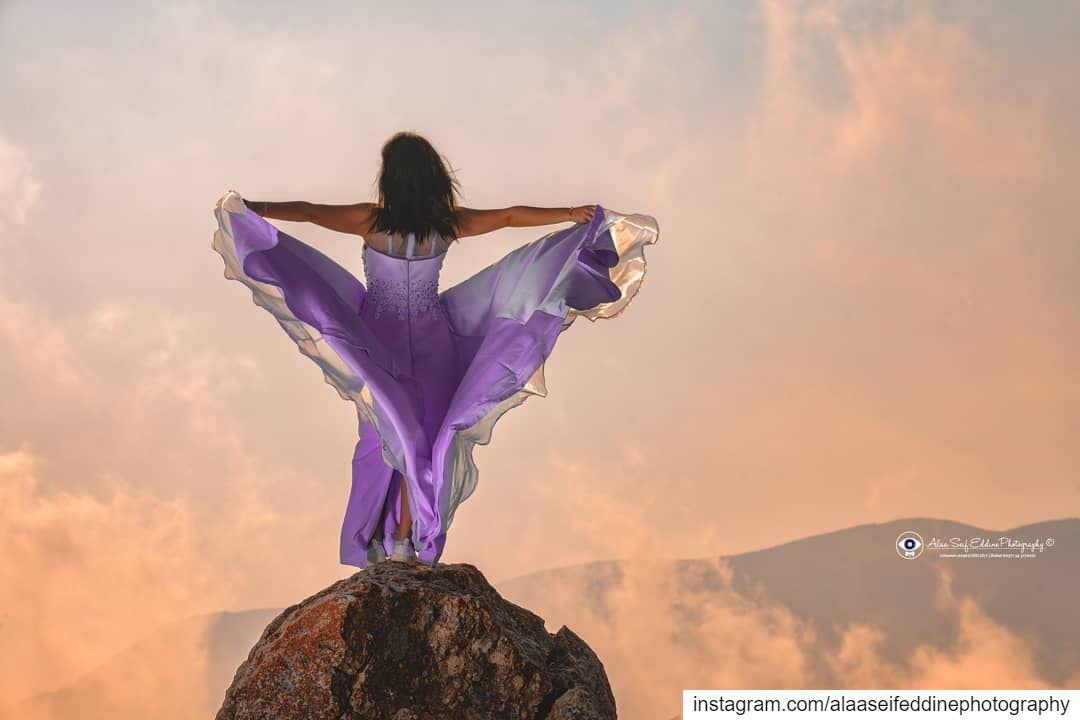 She turns the sky on fire...هي من يلهب النار في السماء......... (Lebanon)