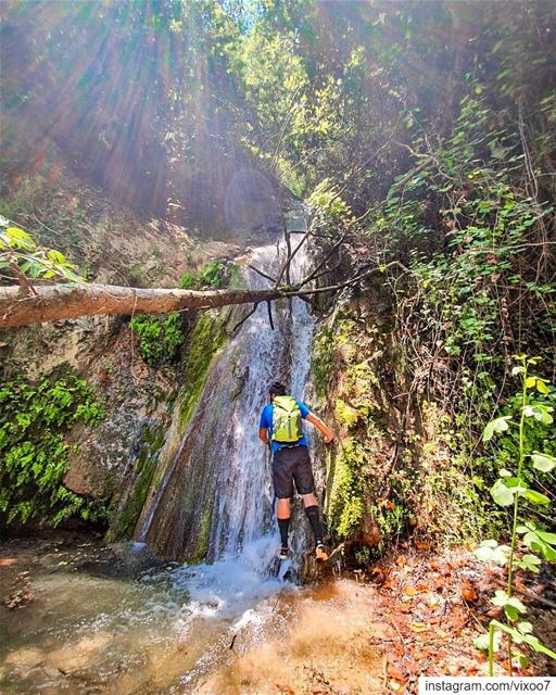 I haven't been everywhere YET 🚀💥... waterfall  hikingadventures ... (Lebanon)