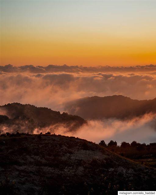 Lebanon 🇱🇧 Top Mountain Mountains Nature Hill Cross Green Sky ... (Wata El Jawz)