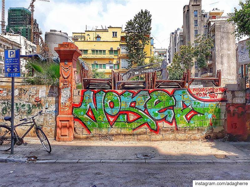 My Beirut... hamra graffiti beirut ig_lebanon rsa_ladies ...