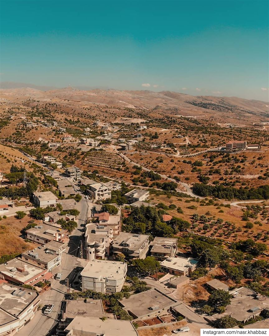 Panoramic aerial shot naturephotography naturelovers ... (Yohmor, Beqaa)