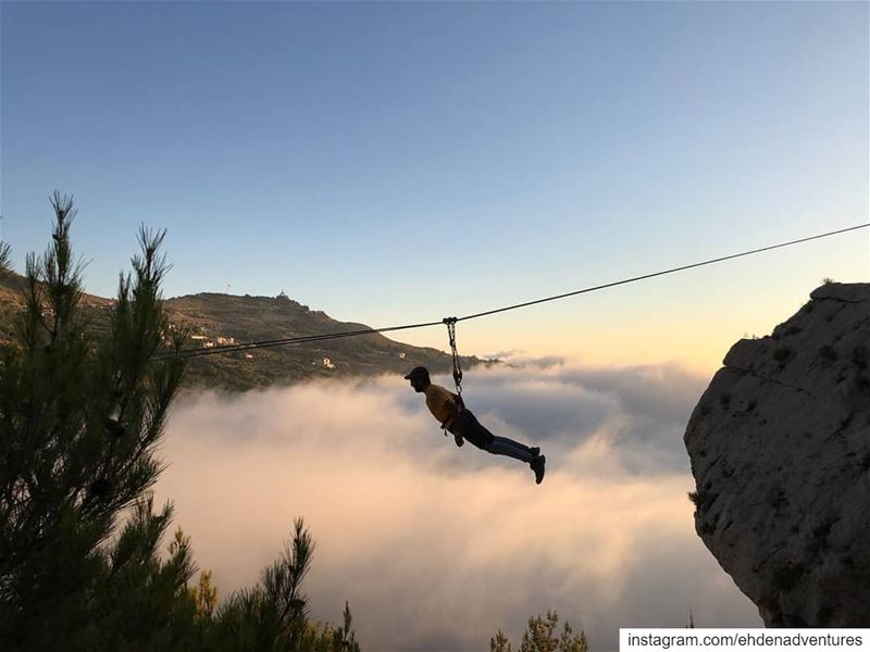sunset zipline ehdenadventures liveloveehden livelovelebanon ehden ... (Ehden Adventures)