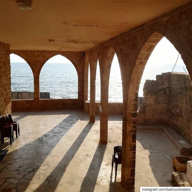batroun saydet_el_baher church oldchurch phoenician wall ... (Batroûn)