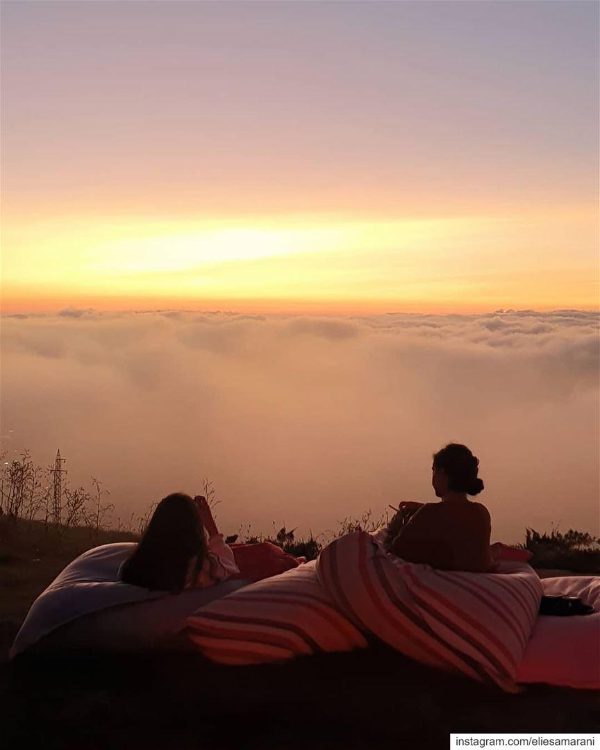 Clouds come floating into my life, no longer to carry rain or usher storm,... (ODIN Mzaar Kfardebian)