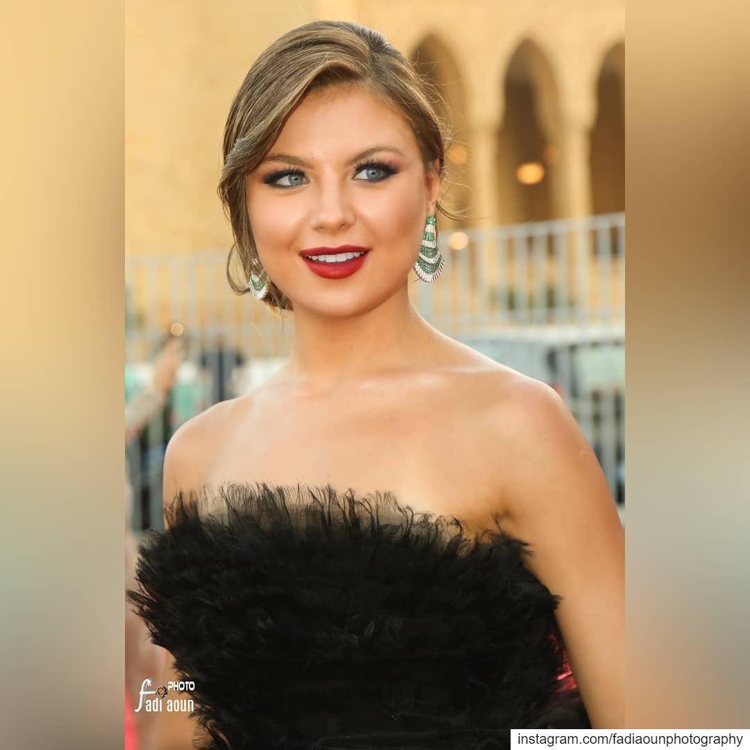 Miss Lebanon 2018 Maya Reaidy Best Dress photo fadiaounphotography ...
