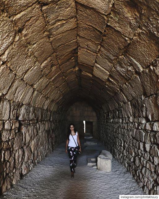 Chasing... (Beaufort Castle, Lebanon)