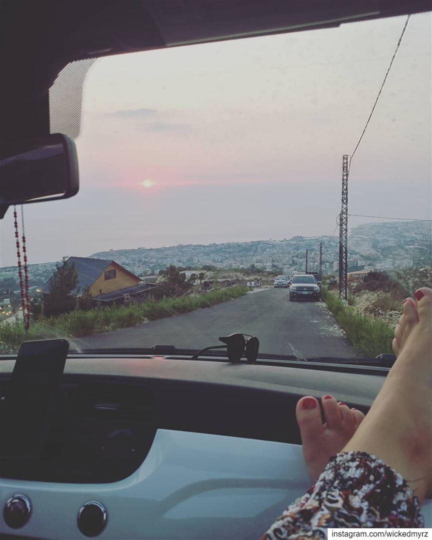 Life, what a ride! 🚘 lebanon byblos livelovebyblos livelovelebanon ... (Haven - The cabin)