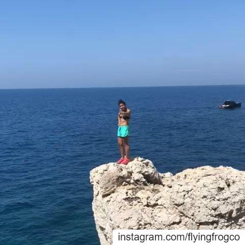 Deep water soloing seasonJoin the fun & learn how to climb...📷@donari (Lebanon)