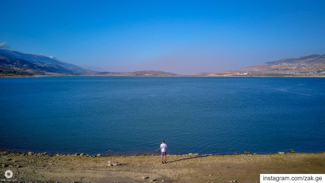 Hi lake 🌊 lifeofadventure lebanon leb exploretocreate lake ... (Lebanon)