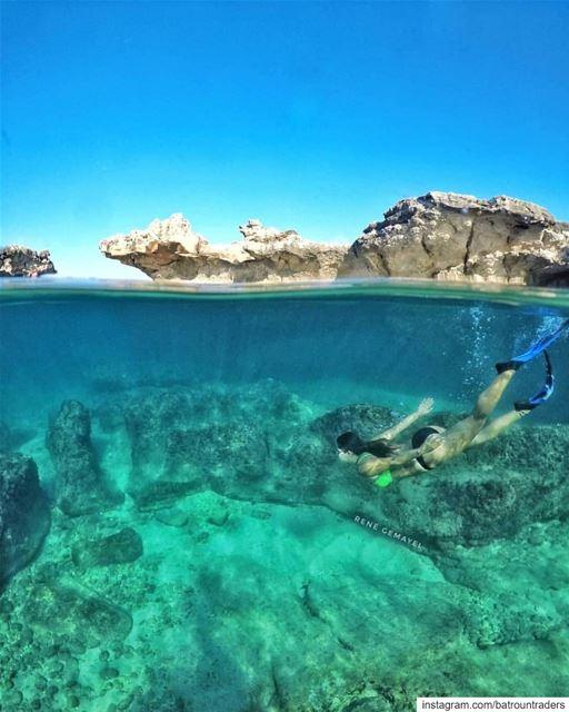 batroun kfarabida freedive diving beach batrounbeach batrouncoast ... (Batroûn)