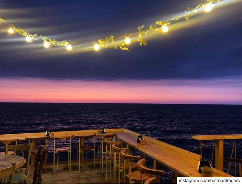 batroun kfarabida @boho.bar.batroun sunset sea batrounbeach ... (Boho Bar Batroun)