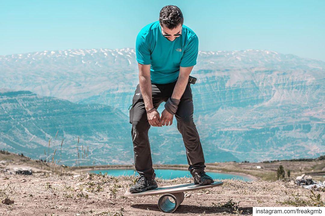 من هوايتي التمرجح، شكراً -- balance akoura lebanon sports adventure ... (The Highest Event)