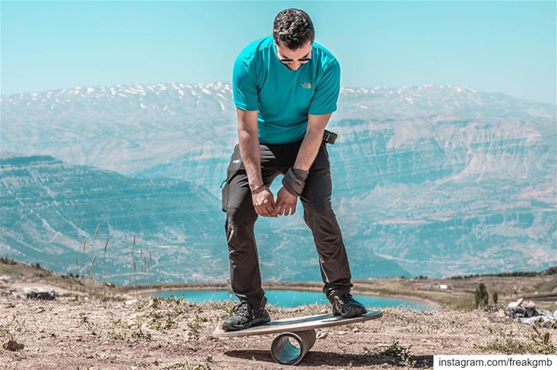 من هوايتي التمرجح، شكراً -- balance akoura lebanon sports adventure ... (The Highest Event)
