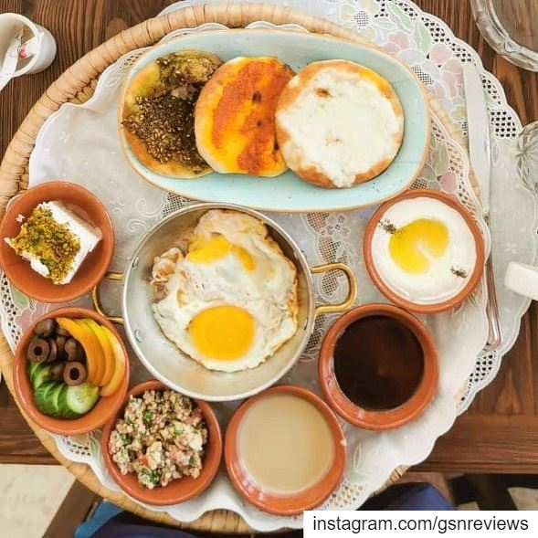 Found the best breakfast in jbeil , you can chose among two trays :... (Byblos - Jbeil)