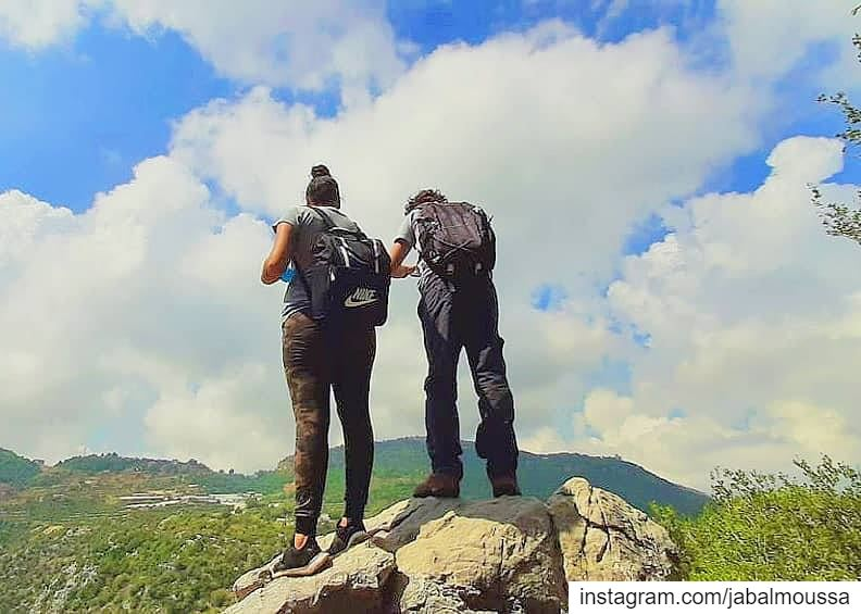 "Posted @withrepost • @charbelabdallah01 ""It's not the mountain we conquer,... (Jabal Moussa Biosphere Reserve)"