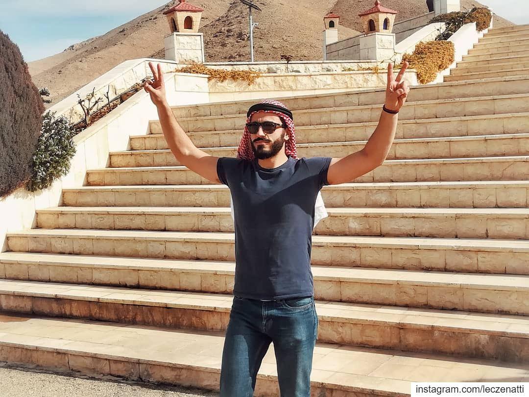 """من مسلسل """"بطل لبنان - حلقة النصر""""________________________________________... (El-Qaa القاع)"""