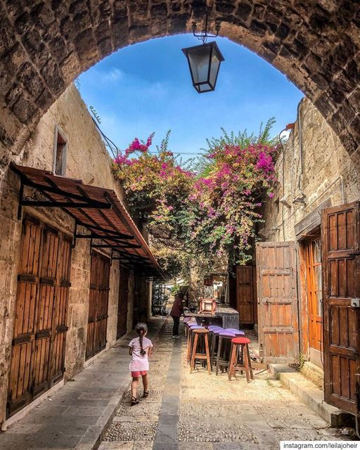 livelovejbeil  architecture  sky  clouds  lovely  livelovelebanon ... (Jbeil-Byblos)