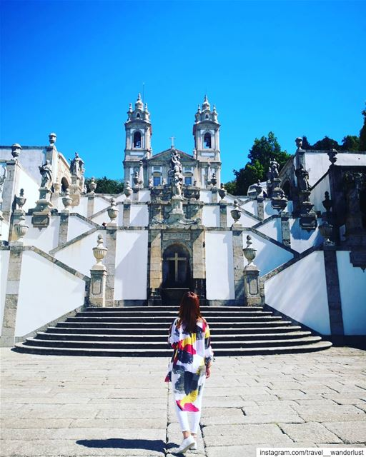 Each step further counts 💙@ghadduya I love it 📸 🥰❤️🙌--- TakeMeTo ... (Bom Jesus De Braga)