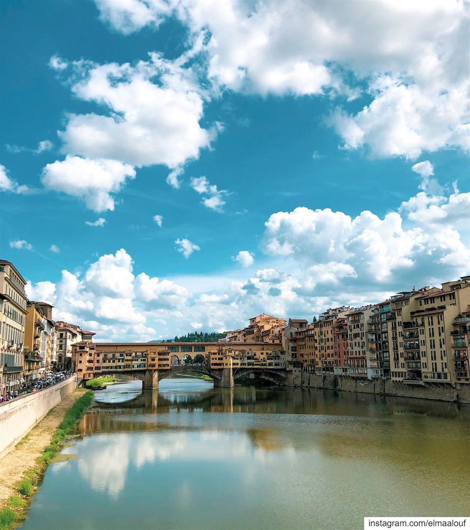 - Firenze 😍 -.... firenze florence italy river instagood ... (Ponte Vecchio)