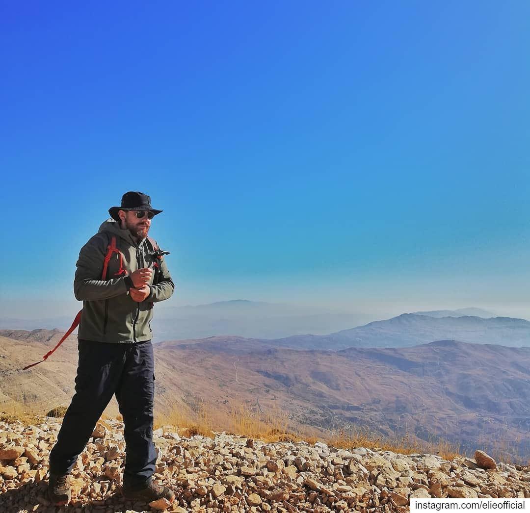 Let's get lost. ⛰️.... hiking hike mountains live love lebanon ... (Mount Sannine)