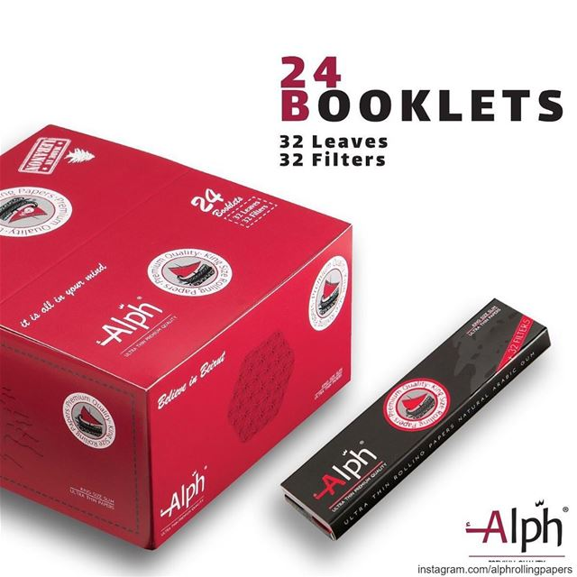 Rolling papers including filters! alph itsallinyourmind pos lebanon ...