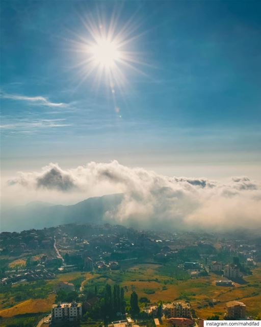 Ehden clouds mountains lebanon Pysglb Nature Landscape Photography... (Ehden, Lebanon)