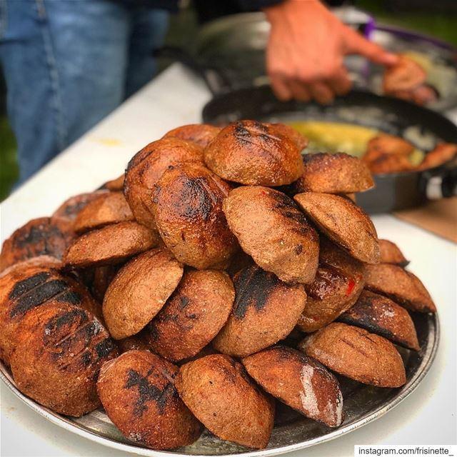 kebbé mechwiyyé : grilled kebbé. This is one of the kebbé variations that... (Saint-Sauveur, Quebec)