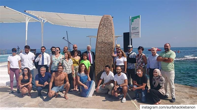 Paddlers, volunteers, and people behind this awesome project! PART 4 OF... (American University of Beirut (AUB))