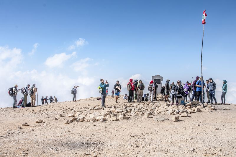 The Black Peak, The highest Point in Lebanon at 3088M (Black Peak)