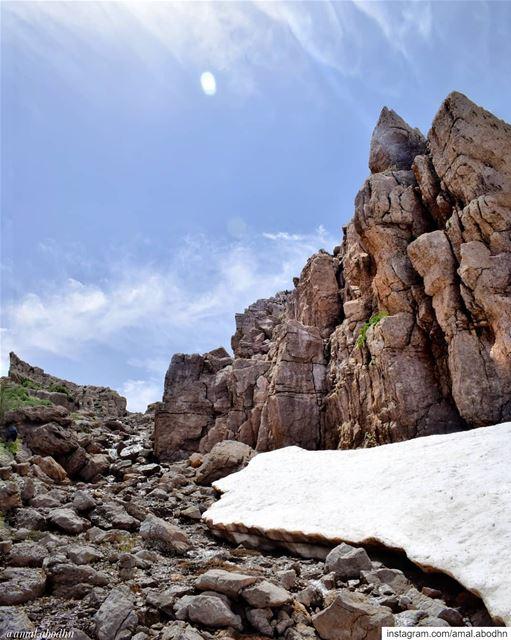 • إذا لم يكن هنالك طريق.إصنع واحداً •... lebanon photography ... (Mount Hermon)