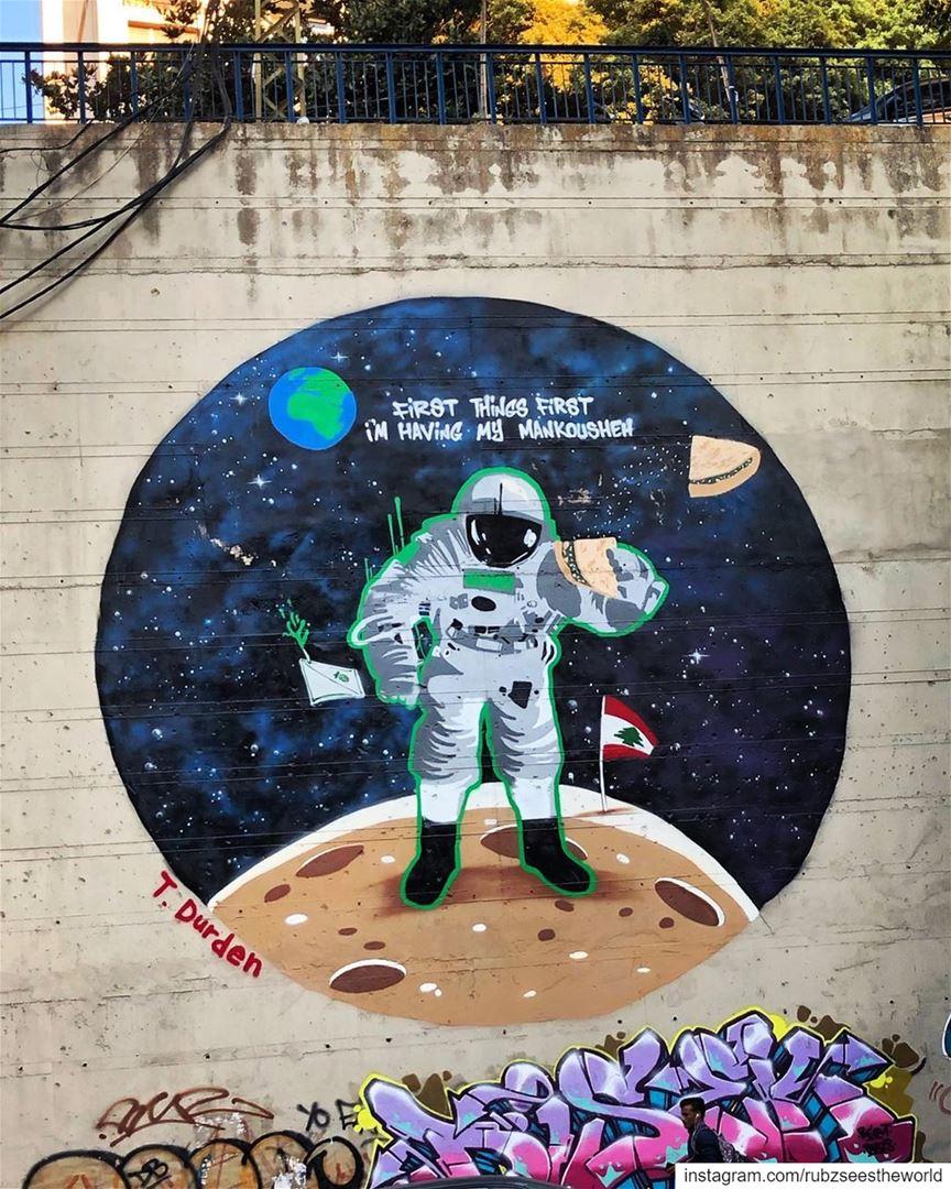 Beirut, Lebanon: T. Durden understands priorities. rubzseestheworld ... (Beirut, Lebanon)