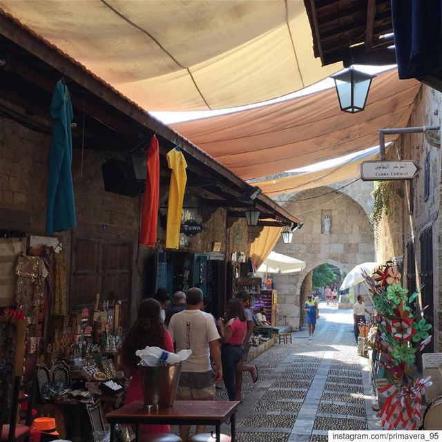 Byblos souk colorful historic shops lebanon livelovebyblos ... (Byblos, Lebanon)