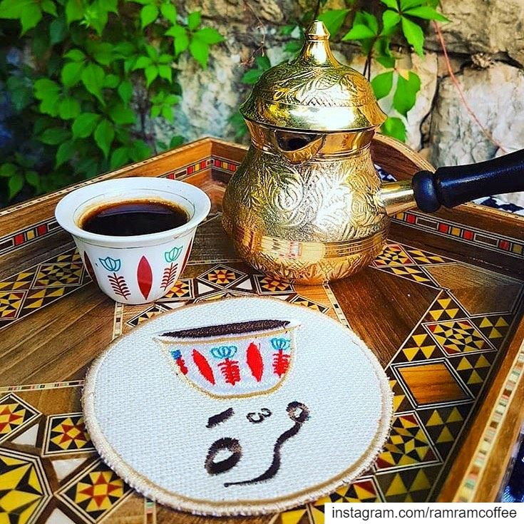 على توقيت نبض قلبي حان الان موعد قهوتي معك...... ramramcoffee ...