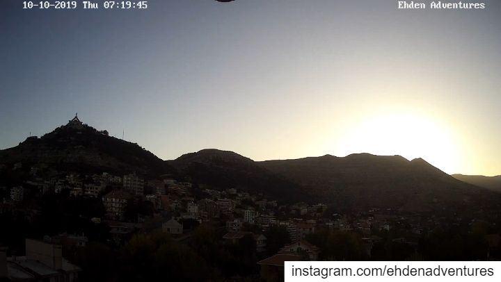 sunrise autumn fall ehdenadventures camera lebanon morning town ... (Ehden, Lebanon)