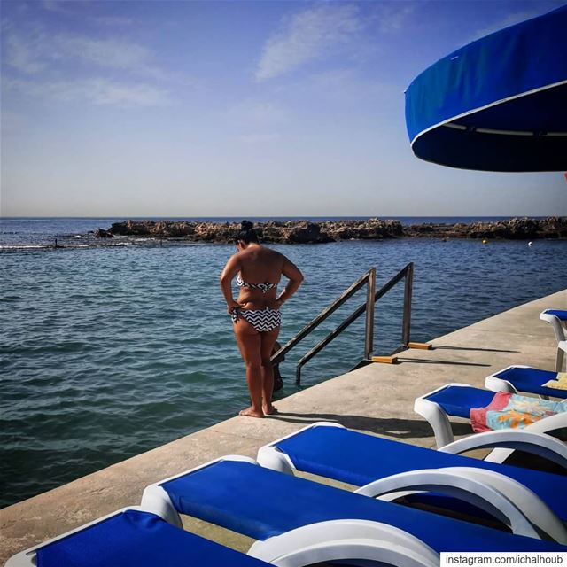 In the water or not, that is the question -  ichalhoub back in ... (Batroun, Lebanon)