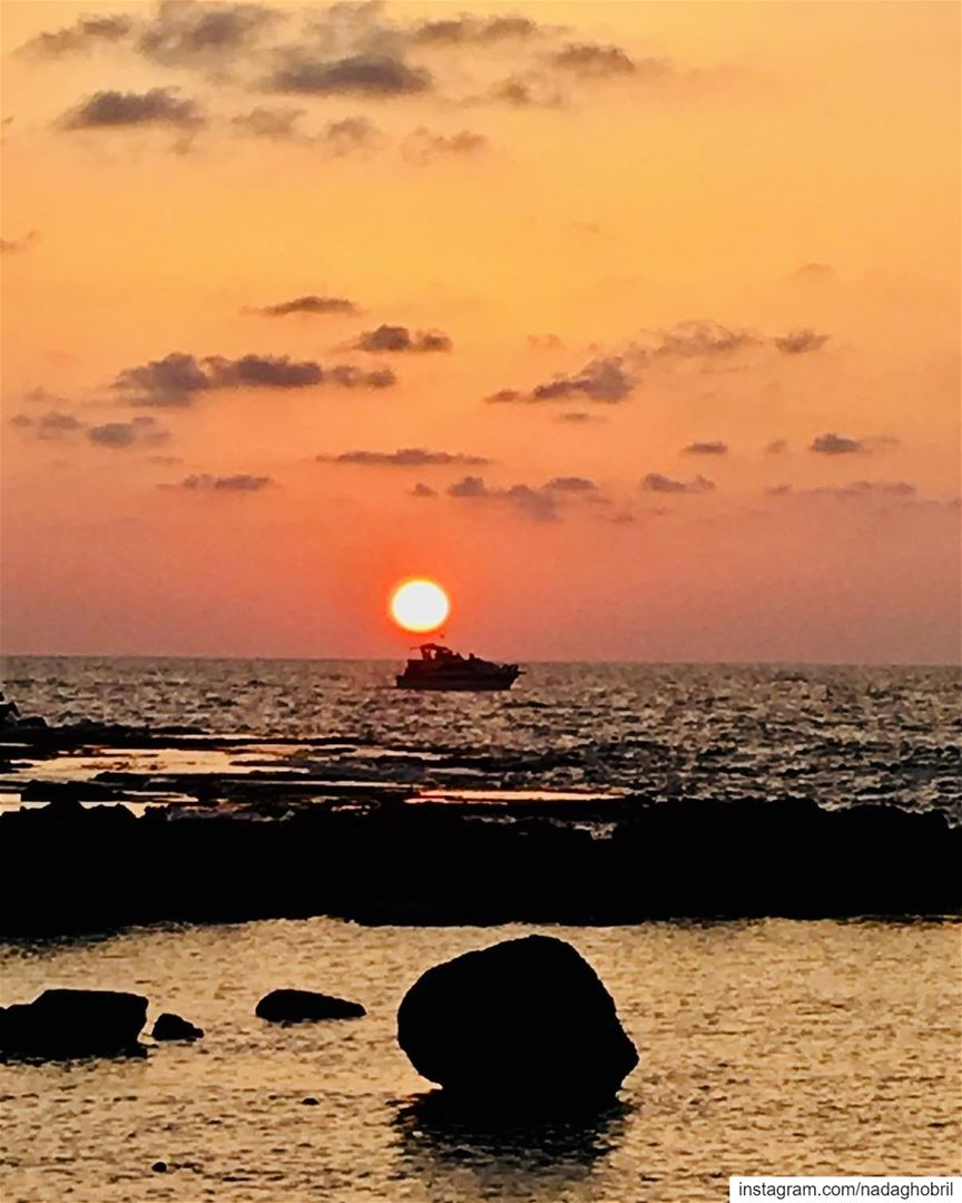 It's almost impossible to watch sunset and not dream 🌅 sunset dream ... (Tyre, Lebanon)