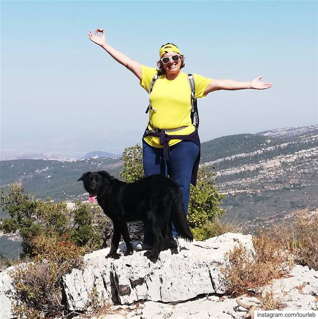 Discovering new trails with my dogs... tourleb  tourismlb  tourlebanon ... (Bchaalé, Liban-Nord, Lebanon)