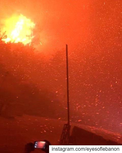 أصعب شي نوعا على فاجعة! لبنان عم يحترق، من الجنوب، للشوف، للمتن حتى أقاصي... (Lebanon)