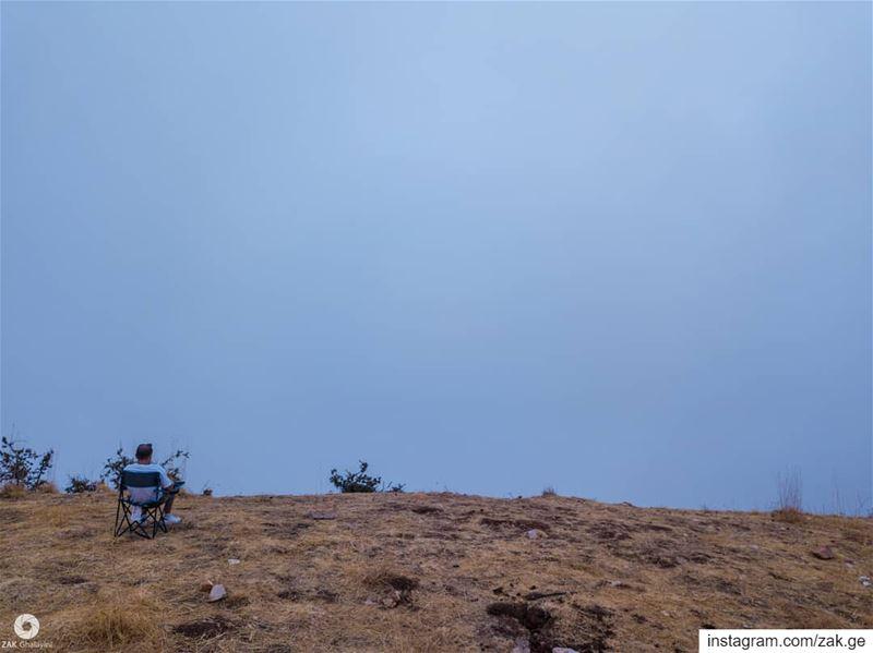 Contemplating oblivion oblivion cloud skyshot landscapephotography ... (Lebanon)