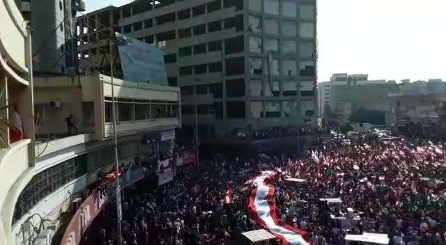 طرابلس ساحة النور - لبنان ينتفض