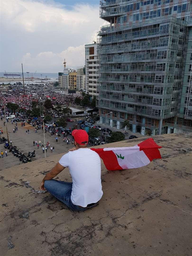 المسرح الروماني وصت بيروت - لبنان ينتفض