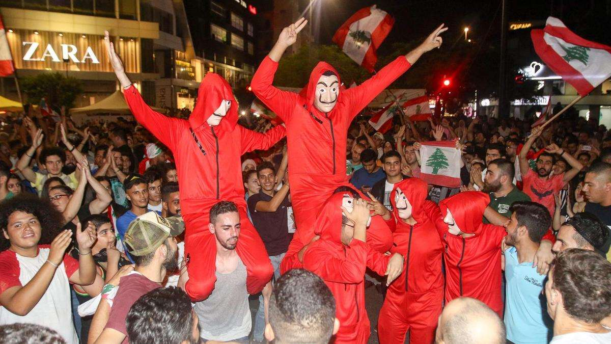 دبكه - لبنان ينتفض (Money Heist)