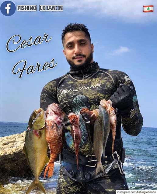 @cesarfares & @fishinglebanon - @instagramfishing @xtlebanon @whatsuplebano (Beirut, Lebanon)