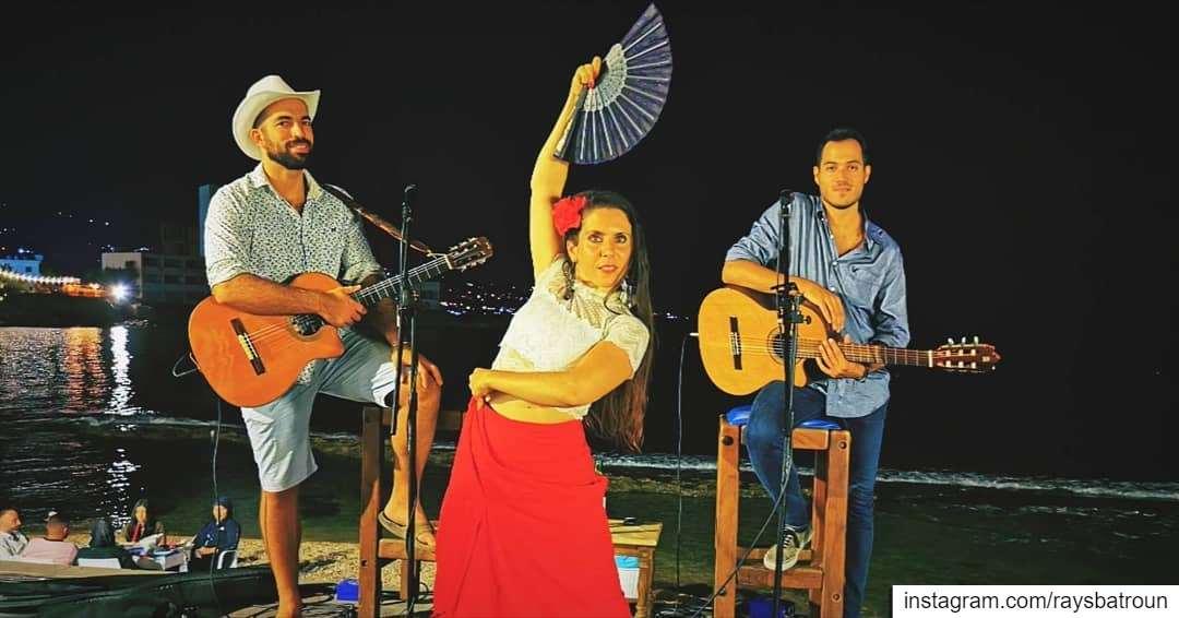 A Special Latino Night 😍 lebanon batroun bahsa beach raysbatroun ... (RAY's Batroun)