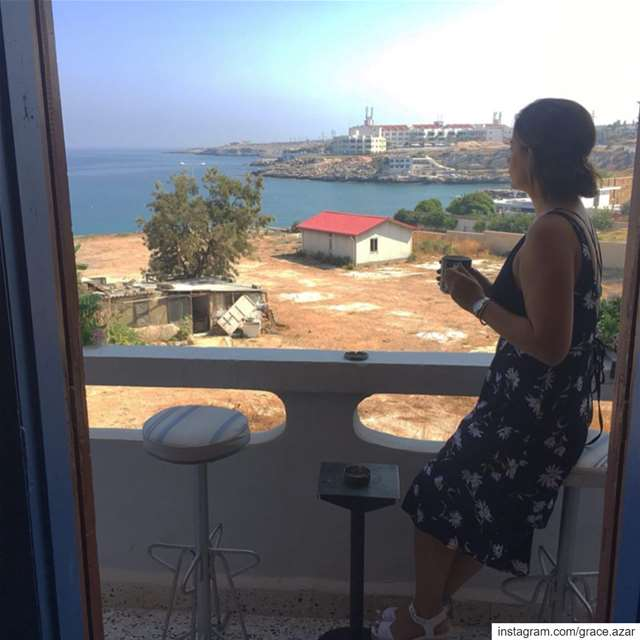 What morning views look like in a calm and cute BnB in Anfe, Lebanon🏡... (Marsē)