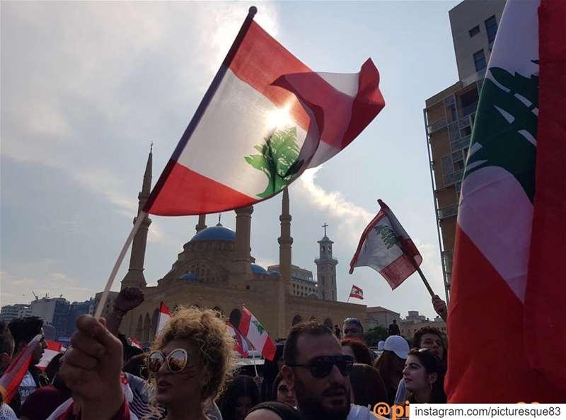 حملة تنظيف.... كلن_يعني_كلن🇱🇧 mylebanon🇱🇧 (Martyrs' Square, Beirut)