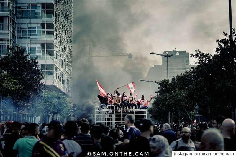 We're up.18/10/2019 lebanon revolution لبنان_ينتفض (Beirut, Lebanon)