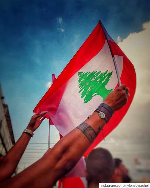 My Lebanon! 🇱🇧 Revolution weareone..... ثورة لبنان_ينتفض ثورة_و (Lebanon)