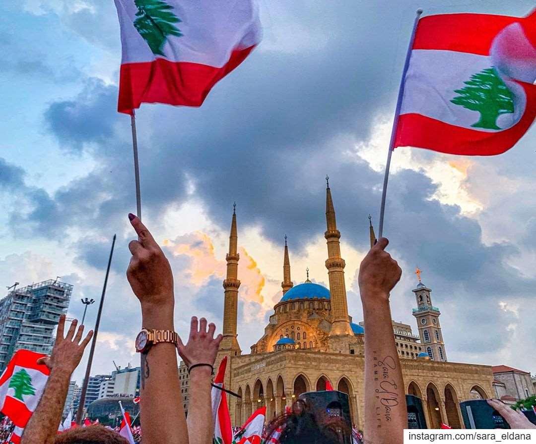 لبنان يتنفس حرية ❤️🌲❤️To a better Lebanon ❤️ (Beirut, Lebanon)