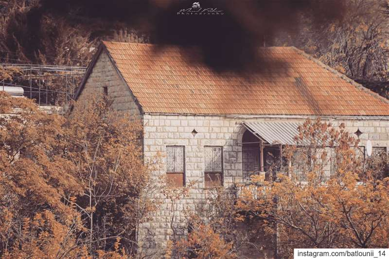 Great morning 🍁───────────────── maaser shouf fall October ... (Maasser Ech Chouf, Béqaa, Lebanon)
